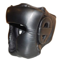 Kopfschutz Jochbeinschutz Schwarz PU