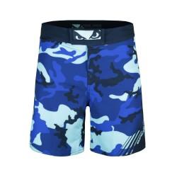 Bad Boy Soldier MMA Shorts Blue
