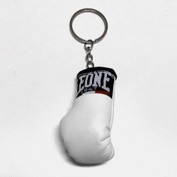 Leone 1947 Boxhandschuh Keyring weiss