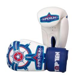 Top Ten Imperium Boxhandschuhe Weiss Blau