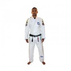 Booster BJJ Pro Slim Fit Brazil White
