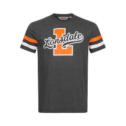 Lonsdale Framlingham Herren T-Shirt Marl Anthracite