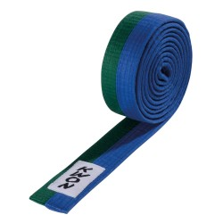 Kwon Budogürtel 4cm grün blau
