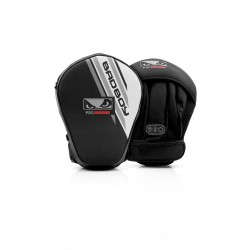 Bad Boy Pro Series Advanced Mini Focus Mitts Black White