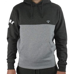 Kronk OC Gloves Premium Fleece Hoodie Charcoal Grey Melange