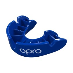Opro Bronze Zahnschutz blau