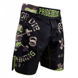 Pride or Die Fightshorts RaW Training Camp Jungle Edition