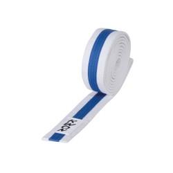 Kwon Budogürtel 4cm weiss blau weiss