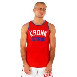 Kronk Iconic Detroit Appl. Training Gym Vest Red