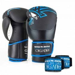 Bad Boy Junior Dos Santos Boxing Gloves Black