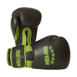 Top Ten Elite Dual Boxhandschuhe 16oz grün