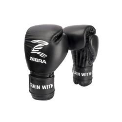 Zebra Boxhandschuhe PRO Signature Hook n Loop Training black