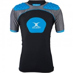 Gilbert Rugby Schulterschutz Atomic V3 Black Blue