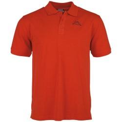 Kappa Polo Shirt PELEOT scarlet