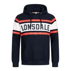 Lonsdale Rudston Herren Kapuzensweatshirt