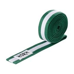 Kwon Budogürtel 4cm grün weiss grün