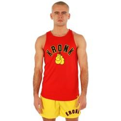 Kronk Gloves Appl. Training Gym Vest Red