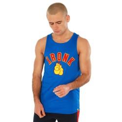 Kronk Gloves Appl. Training Gym Vest Royal Blue