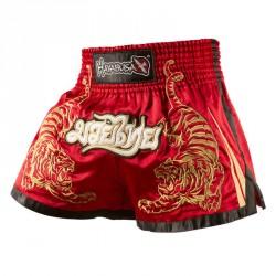 Hayabusa Premium Muay Thai Shorts Red