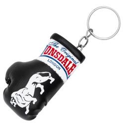 Lonsdale Promo Mini Boxhandschuhe Keyring Schwarz