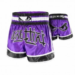 Bad Boy Kao Loy Muay Thai Fightshorts Purple
