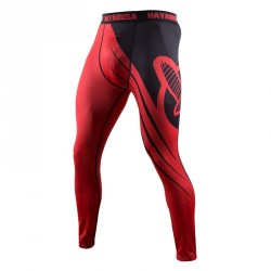 Abverkauf Hayabusa Recast Compression Pants Red Black
