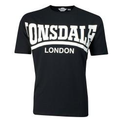 Lonsdale York Herren T-Shirt Schwarz