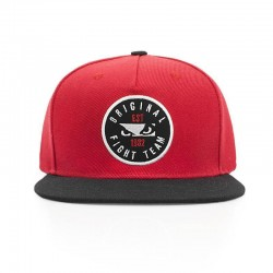 Bad Boy Original Fightteam Snapback Cap Red