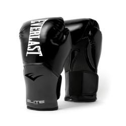 Everlast Pro Style Elite Boxhandschuhe Black Grey