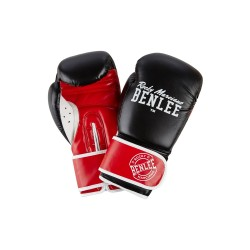 Benlee Carlos Boxhandschuhe Kids White Black Red
