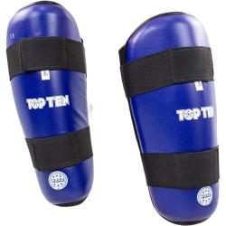 Top Ten Wako Style Schienbeinschutz Blau