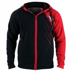 Hayabusa Recast Hoodie Black Red