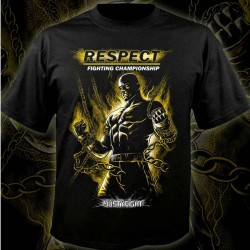 Abverkauf Justyfight Respect T-Shirt