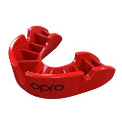 Opro Bronze Zahnschutz rot