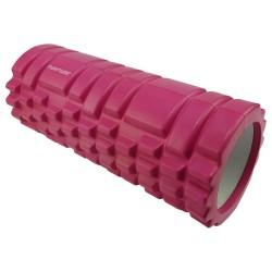 Tunturi Yoga Foam Grid Roller Pink 33 cm