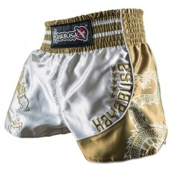 hayabusa garuda muay thai short white g nstig kaufen boxhaus. Black Bedroom Furniture Sets. Home Design Ideas