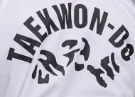 Phoenix Taekwondo Anzug BASIC Edition Weiss Kids Rückendruck