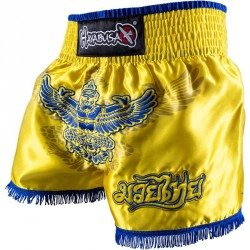 Abverkauf Hayabusa Garuda Muay Thai Short Yellow