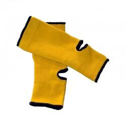 Achillessehnen Knöchelschoner Gelb Schwarz