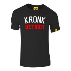 Kronk Iconic Detroit Slim Fit T-Shirt Black