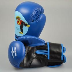 Phoenix Junior Boxhandschuhe PU Blau Budobaert