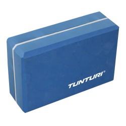 Tunturi Yoga Block Blue White
