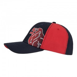 Lonsdale Clovelly Cap Navy Red
