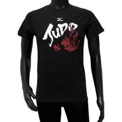 Mizuno T-Shirt Judo 2018 Kids schwarz