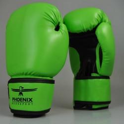 Phoenix Life Boxhandschuhe PU Hellgrün Schwarz