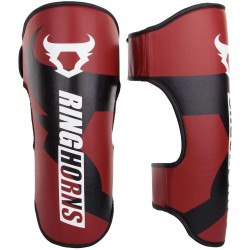 Ringhorns Charger Shinguards Red