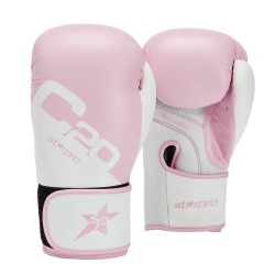 Starpro C20 Training Boxhandschuhe Pink Weiss