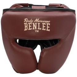 Benlee Berkley Kopfschutz Leder Wine