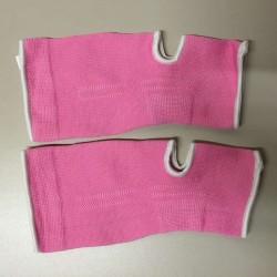 Achillessehnen Knöchelschoner Pink Weiss