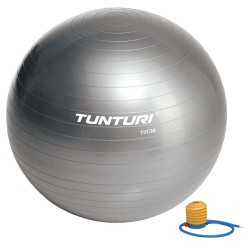Tunturi Gymnastikball silber 75cm